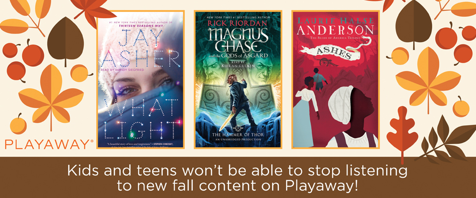 Kids & Teens Fall Fiction
